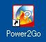 Power2Goを起動する
